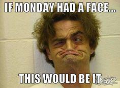 monday, monday face, week day, monday funny, monday meme, meme, ugly face, ugly mug