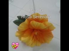 Tutorial: Rosa Serenata com Frisador (EVA) - YouTube