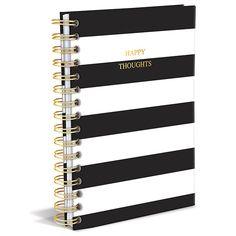 Black and white stripe notebook. #vihko #notebook #journal #verkkokauppa #chiccompany www.chiccompany.fi