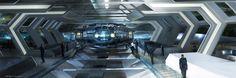 concept ships: Spaceship concept art by Gloria Shih