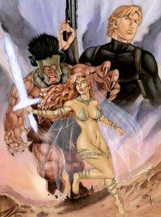 Fantasy/Comics by Cosimo Ferri - W.B.