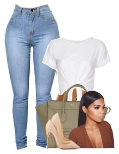 """""""Untitled #530"""" by princess-miyah ❤ liked on Polyvore featuring Christian Louboutin"""