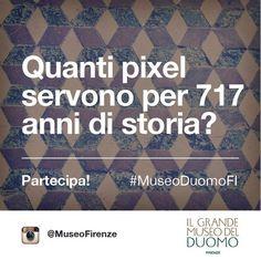 717 years of Opera di Santa Maria del Fiore go to Instagram with the #MuseoDuomoFi Instagram Challenge. http://operaduomo.firenze.it/blog/posts/una-foto-da-museo-instagram-challenge