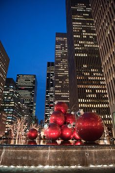NYC at Christmas time