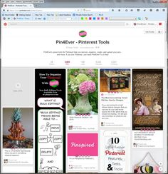NEW Pin4Ever Pin Ratings on Pinterest - a free tool to rank and organize your pins with stars! Get it FREE at www.pin4ever.com
