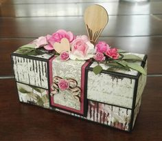 Scrappiness Decorative Boxes, Scrap, Paper Crafts, Envelopes, Houses, Bags, Home Decor, Basteln, Homes