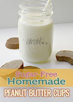 Homemade Peanut Butter Cups - sugar free! Bonus :)