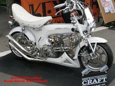 HonDa Dax Honda Motorcycles, Custom Motorcycles, Cars And Motorcycles, Chopper, Minibike, Honda Shadow, My Ride, Motorbikes, Vehicles