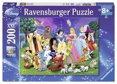 Ravensburger Puzzle - Disney Favorites XXL (200Pcs) (12698)  Manufacturer: Ravensburger Enarxis Code: 016051 #toys #puzzle #Ravensburger #Disney