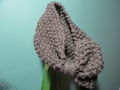 Chunky Knit Wool Blend Bow Tie Cowl by JLM2point0 on Etsy