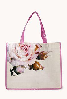 Sweet-As-A-Rose Shopper Tote