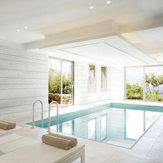 Daios Cove Luxury Resort & Villas in Crete Crete Hotels, Steam Sauna, Resort Villa, Steam Room, Greek Islands, Spa, Luxury, Interior