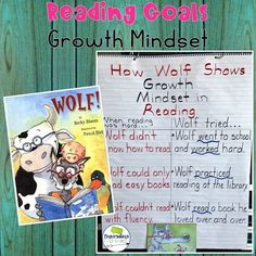 Growth Mindset anchor chart activity to go with the picture book Wolf! Great for guided reading and back to school! #anchorcharts #guidedreading #comprehension #backtoschool #comprehensionactivities #elementary #growthmindset 1st grade, 2nd grade, 3rd grade, 4th grade #firstgrade #secondgrade #thirdgrade #fourthgrade