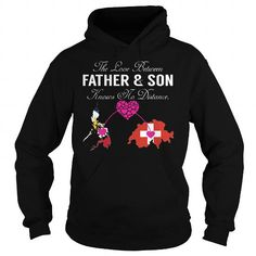 Name The Love Between Father and Son Knows No Distance - Philippines Switzerland Shirts & Tees