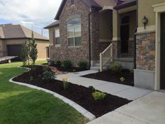 This is a after of front walkway
