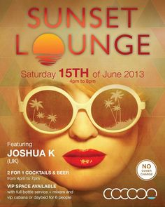 Sunset Lounge at Cocoon Beach Club, Bali Feat Joshua K