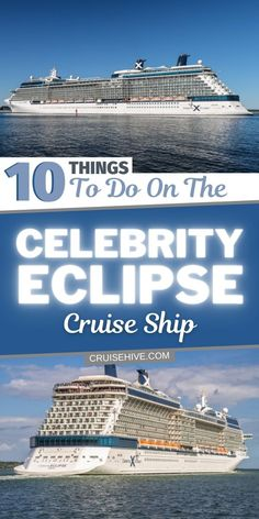 Cruise and travel tips on the Celebrity Eclipse cruise ship operated by Celebrity Cruises. Things to do onboard, stats and more. #cruise #cruisetips #cruiseship #cruisetravel #celebritycruises