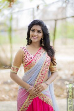 Eesha Rebba looking authentic in this traditional attire Indian Actress Hot Pics, Actress Pics, Most Beautiful Indian Actress, Beautiful Actresses, Indian Actresses, Tamil Actress Photos, Beautiful Girl In India, Beautiful Girl Photo, Beautiful Saree