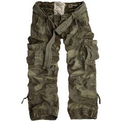 Abercrombie & Fitch Burmac Low Rise Lightweight Cargo Pants