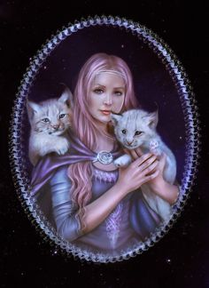 """""""The gentleness and loving nature you show the world, will be echoed back to you in all of your surroundings.""""  - Jasmeine Moonsong   Put A Little Magick in Your Day! Premium edition includes daily magickal correspondences, quotes, affirmations, tarot card, spell , and an article teaching you more about your path. :)))   http://www.wiccanmoonsong.com/Moonsong-Daily-Magick.html  **original artwork by: DolceCarmella**"""