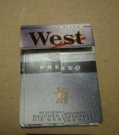 west tabak duitsland Streichholzschachtel       West Tobacco Germany Streichholzschachtel