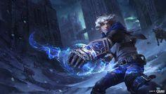 ArtStation - Ezreal - League of Legends Splash art, Lian - OXAN STUDIO