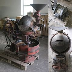 Yesterday we got it's motor running. Although all the parts are made of cast iron steel, it ran so smooth it only made a soft humming sound.