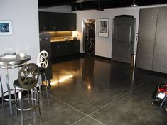 Steel, Polished Garage Floors Surfacing Solutions Temecula, CA
