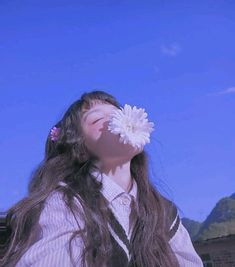 Discover recipes, home ideas, style inspiration and other ideas to try. Angel Aesthetic, Aesthetic People, Korean Aesthetic, Blue Aesthetic, Aesthetic Photo, Aesthetic Pictures, Ulzzang Korean Girl, Cute Korean Girl, Ullzang Girls