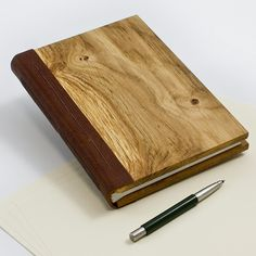 Wooden Notebook, A5 size
