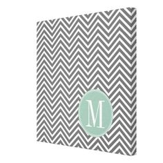 =>Sale on          	Charcoal and Mint Green Chevrons Custom Monogram Stretched Canvas Print           	Charcoal and Mint Green Chevrons Custom Monogram Stretched Canvas Print we are given they also recommend where is the best to buyDiscount Deals          	Charcoal and Mint Green Chevrons Cust...Cleck link More >>> http://www.zazzle.com/charcoal_and_mint_green_chevrons_custom_monogram_canvas-192840769953841880?rf=238627982471231924&zbar=1&tc=terrest