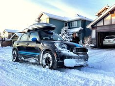 MINI Countryman at Snow