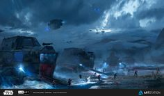 ILM Art Department Challenge - The Ride, Pablo Dominguez on ArtStation at…