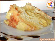 » Colomba farcita con crema pasticcera al limone e torrone
