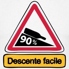 Tee shirt 90 descente facile3 | Spreadshirt | ID: 16750610