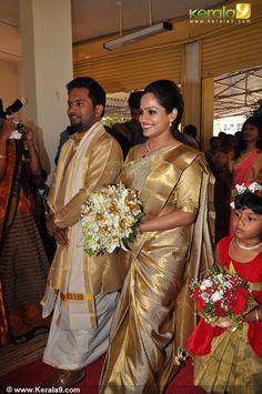 Kerala Christian simple celebrity wedding