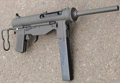 "M3 Grease gun..and my ""love affair"" with WWII era sub machine guns continues."
