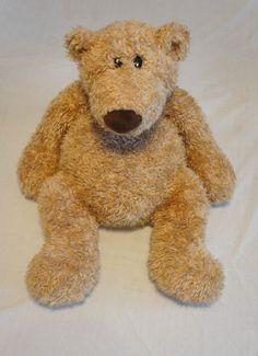 "Pottery Barn kids Clancy Bear PBK GUND 24""  Tan Teddy Bear Plush Large #PotteryBarnKids"