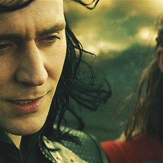 You're so beautiful Loki. The wind in your beautiful hair. If my fingers were wind…They would be strumming your hair and your face.