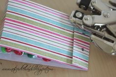 Simple way to use paper and a hole punch to make a #favor bag