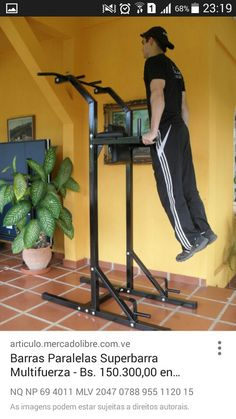 Creative toured bodybuilding at home Let us know how we did Homemade Gym Equipment, Diy Gym Equipment, No Equipment Workout, Home Made Gym, At Home Gym, Bar Workout, Gym Workouts, Bodybuilder, York Fitness