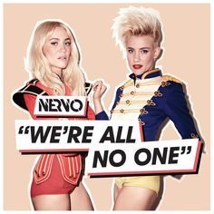 """""""We're All No One (NERVO Goes To Paris Remix) [feat. Afrojack and Steve Aoki]"""" by NERVO added to Liked Music 2 playlist on Spotify"""