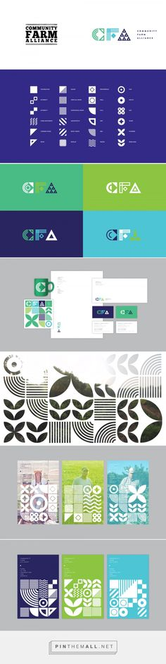 Brand New: New Logo and Identity for Community Farm Alliance by Bullhorn - created via https://pinthemall.net