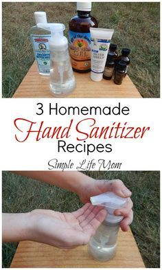 3 homemade hand sanitizer recipes natural healthy and easy to make ingredients like essential oils aloe vera gel witch hazel and colloidal silver homemade hand sanitizer Natural Disinfectant, Disinfectant Spray, Disinfecting Wipes, Best Essential Oils, Young Living Essential Oils, Tips And Tricks, Autogenic Training, Natural Hand Sanitizer, Home Made Hand Sanitizer