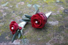 ♥♥♥ Herrenanstecker für die Hochzeit. www.weddstyle.de/hochzeitsanstecker-blumenanstecker.html
