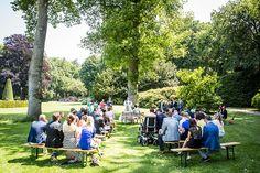 Trouwen in de tuin van kasteel Prattenburg, Veenendaal #bruidsfotograaf #bruidsfotografie Dario Endara