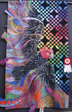 Australian quilt seen in Jane Sassaman's blog