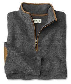 Simoom Tweed Quarter-Zip Sweatshirt
