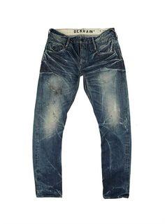 SKIN D JEANS - DENHAM the Jeanmaker <DOPE! Raw Denim, Denim Jeans Men, Washed Denim, Denham Jeans, Edwin Jeans, Denim Ideas, Love Jeans, Vintage Jeans, Denim Fashion