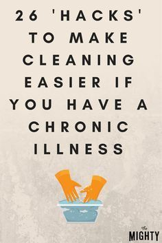 These tips can help anyone! 26 'Hacks' That Can Make Cleaning Easier If You Have a Chronic Illness. My husband has a chronic illness so some of these ideas would definitely be more helpful! Fatigue Causes, Chronic Fatigue Syndrome, Chronic Illness, Chronic Pain, Migraine, Crps, Tips & Tricks, Invisible Illness, Cleaning